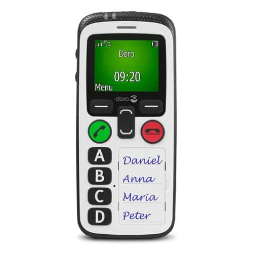 dementia mobile phone