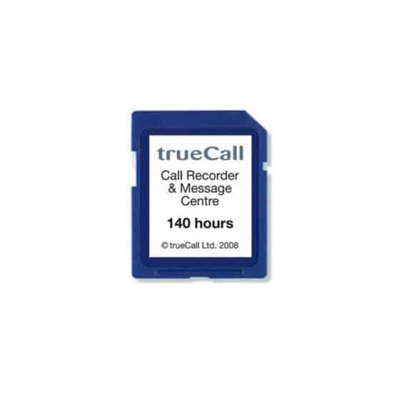 140 Hour Memory Card for TrueCall