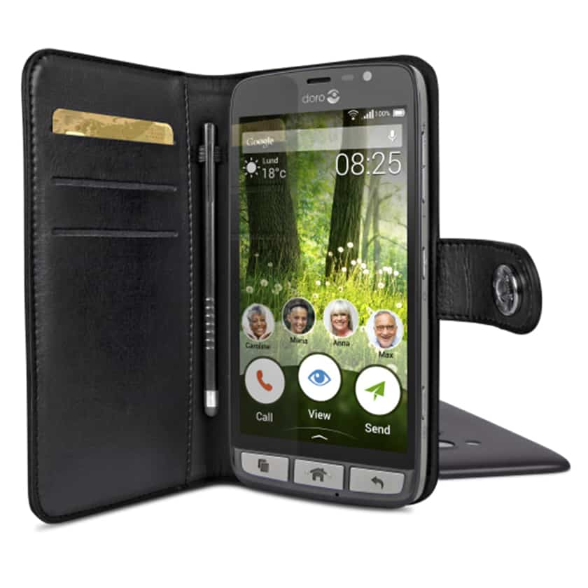 the best attitude 5f92b 6b301 Doro Liberto 825 case (Wallet Style) Available now at TechSilver.co.uk