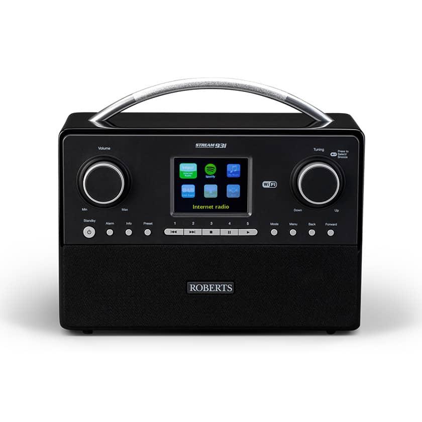 Roberts stream 93i roberts dab radio internet radio for Radio parlamento streaming