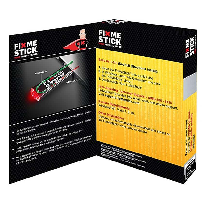 FixMeStick: Easy Computer Virus Removal - TechSilver co uk