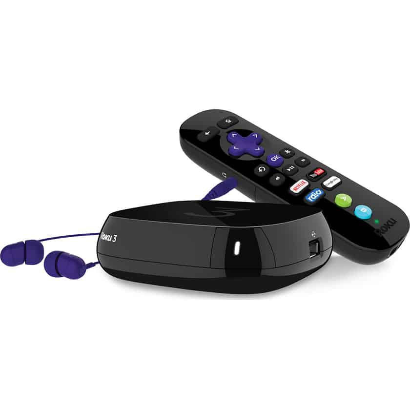 Personal Satellite Tracker >> Roku 3 HD; Simple Streaming Player - Now in Stock At TechSilver.co.uk