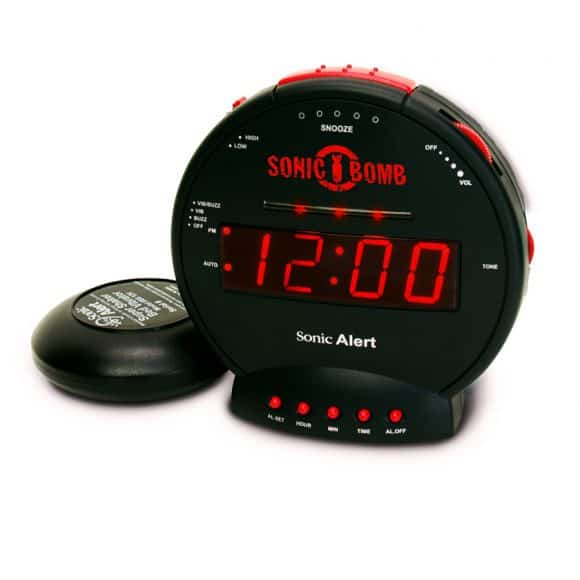 alarm clock for deaf