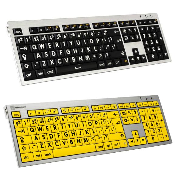 Large Print Keyboard for Mac