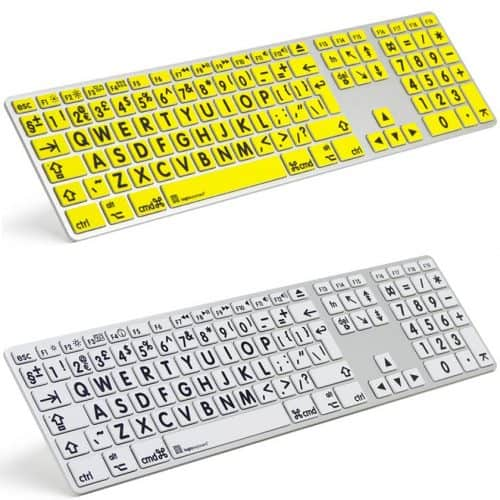 8 Best Large Print Big Key Keyboards For Visually