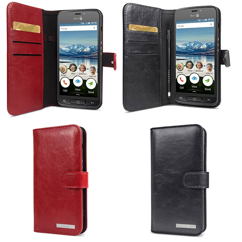 official wallet case doro phone case doro 8040 fast delivery. Black Bedroom Furniture Sets. Home Design Ideas