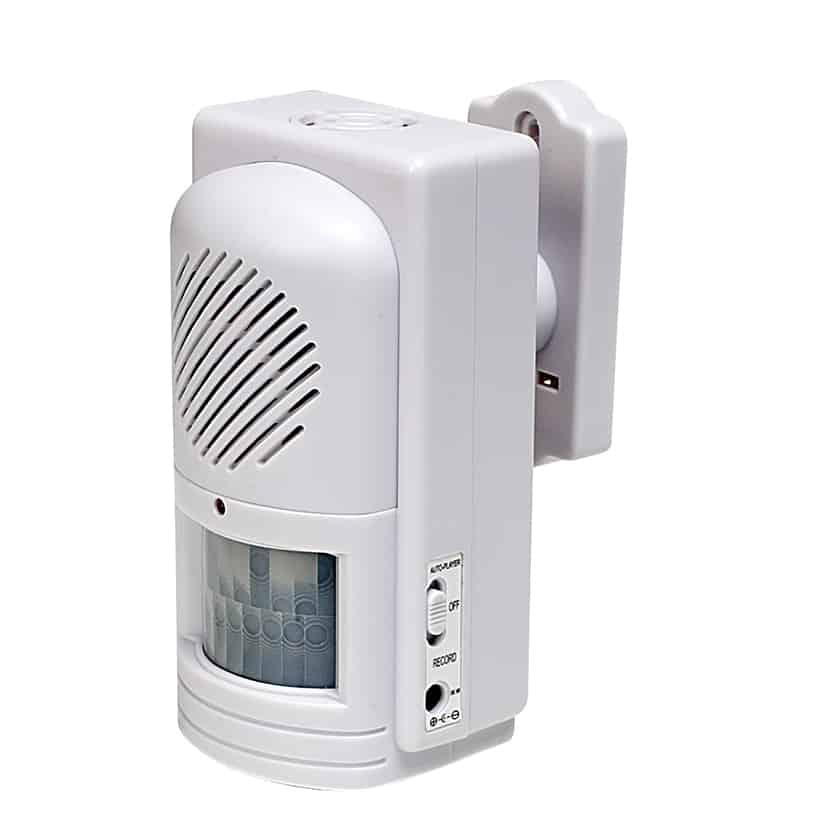 Motion Sensing Doors : Motion activated sound player sensor speaker