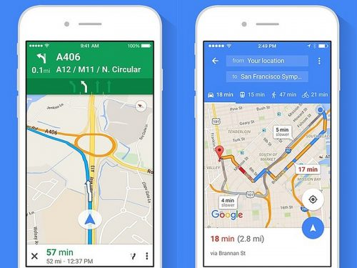 google maps app for elderly