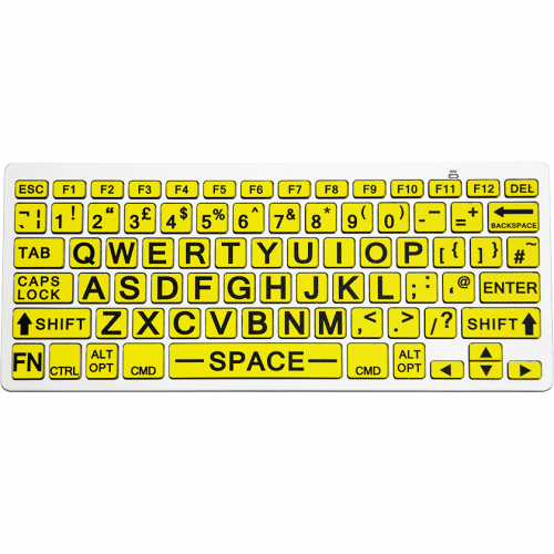 Bluetooth Wireless Large Print Keyboard