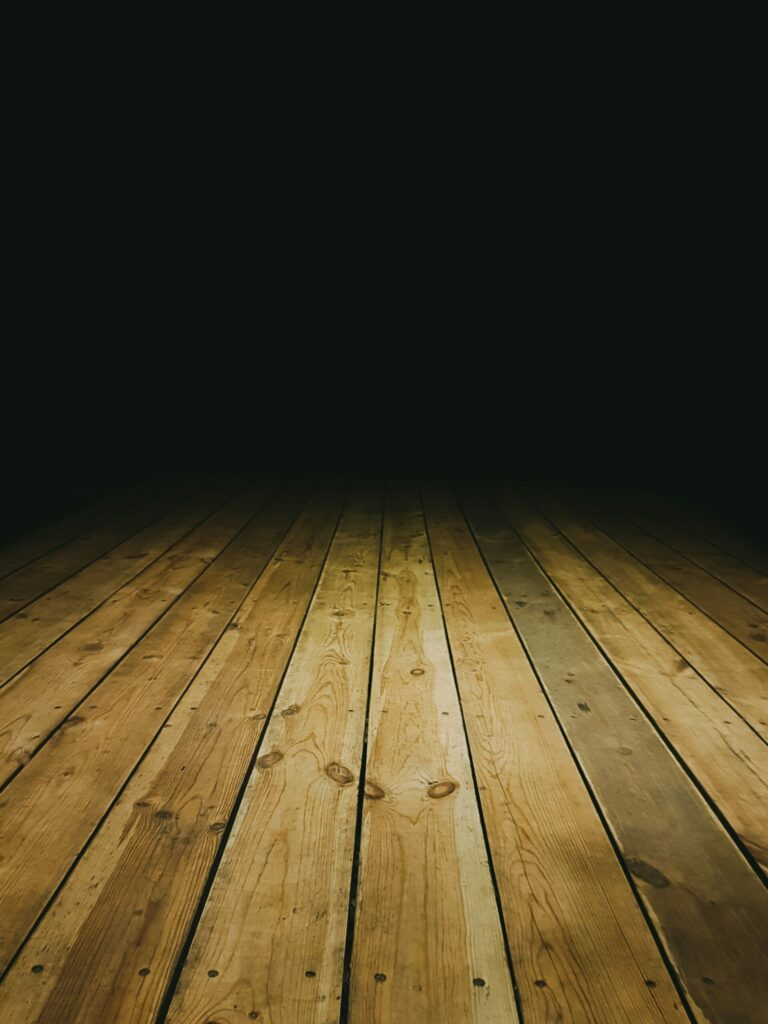 Wooden Floorboards - Fall prevention