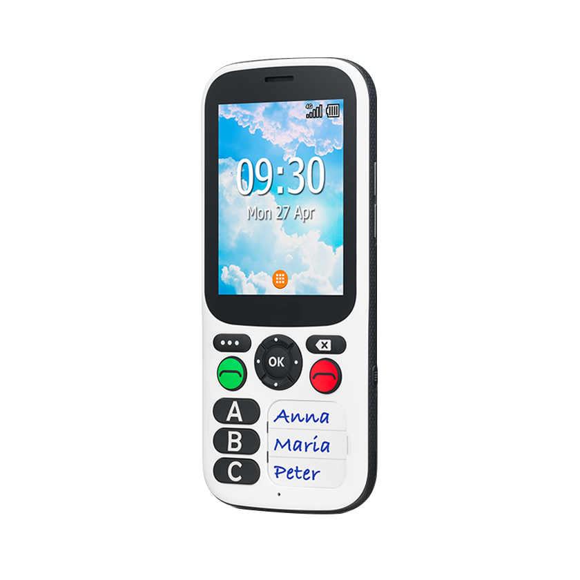 Extra Simple Phone for Dementia - Fall Prevention