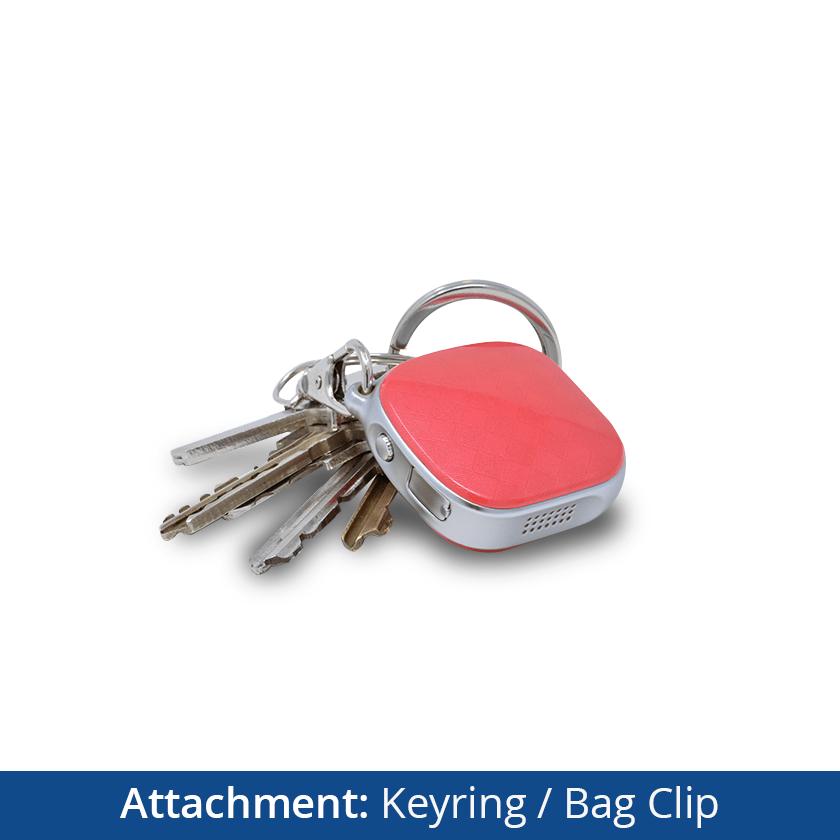 Dementia Tracker GPS Keyring/Necklace - Keyring