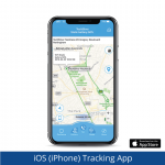 Dementia Tracker GPS Keyring/Necklace - Tracking App