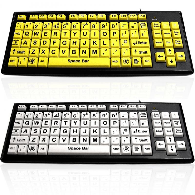 big button keyboard