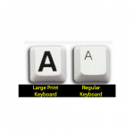 large print keyboard for visually impaired