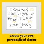 talking reminder clock
